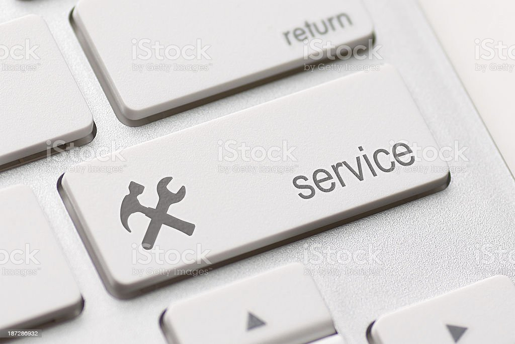 service enter key stock photo