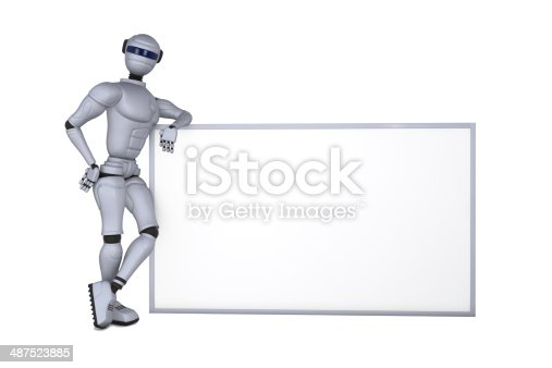 521048154 istock photo Service is a robot 487523885