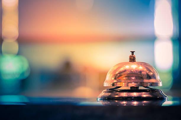 doręczanie dzwonka - hotel zdjęcia i obrazy z banku zdjęć