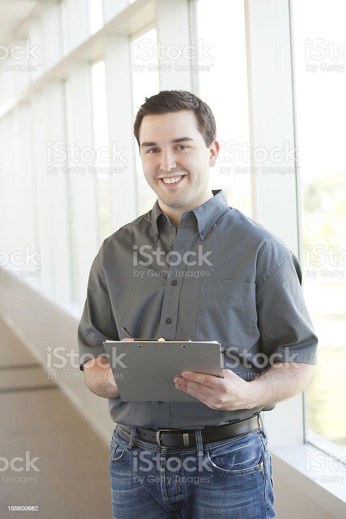 Service Personnel stock photo