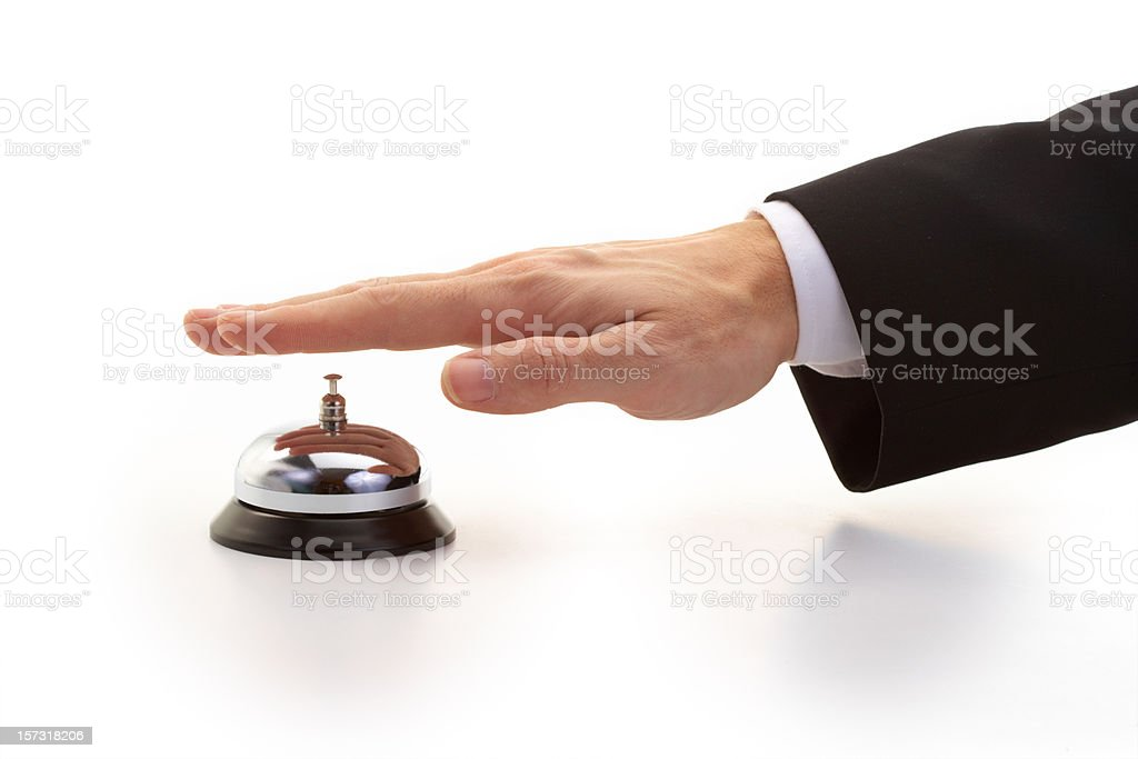 service please - Royalty-free Arrival Stock Photo