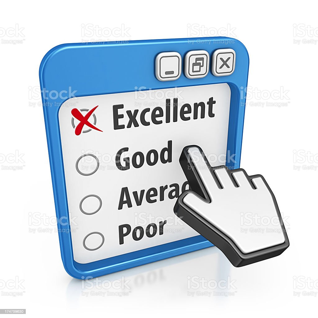 service questionnaire royalty-free stock photo