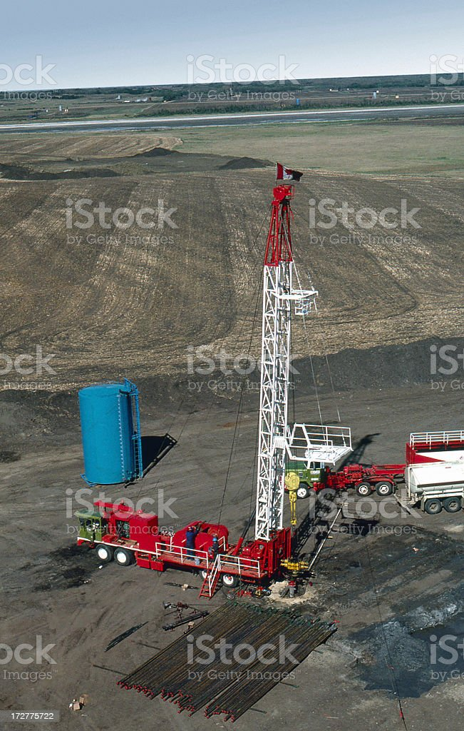 Service Rig 2 royalty-free stock photo