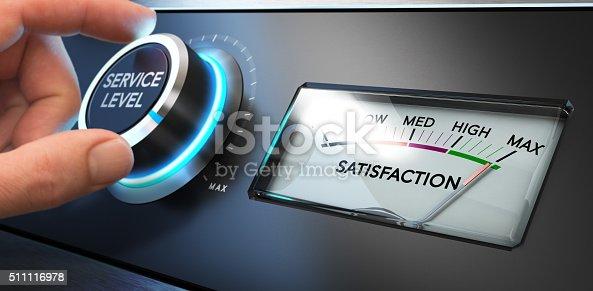istock Service Satisfaction Indicator 511116978