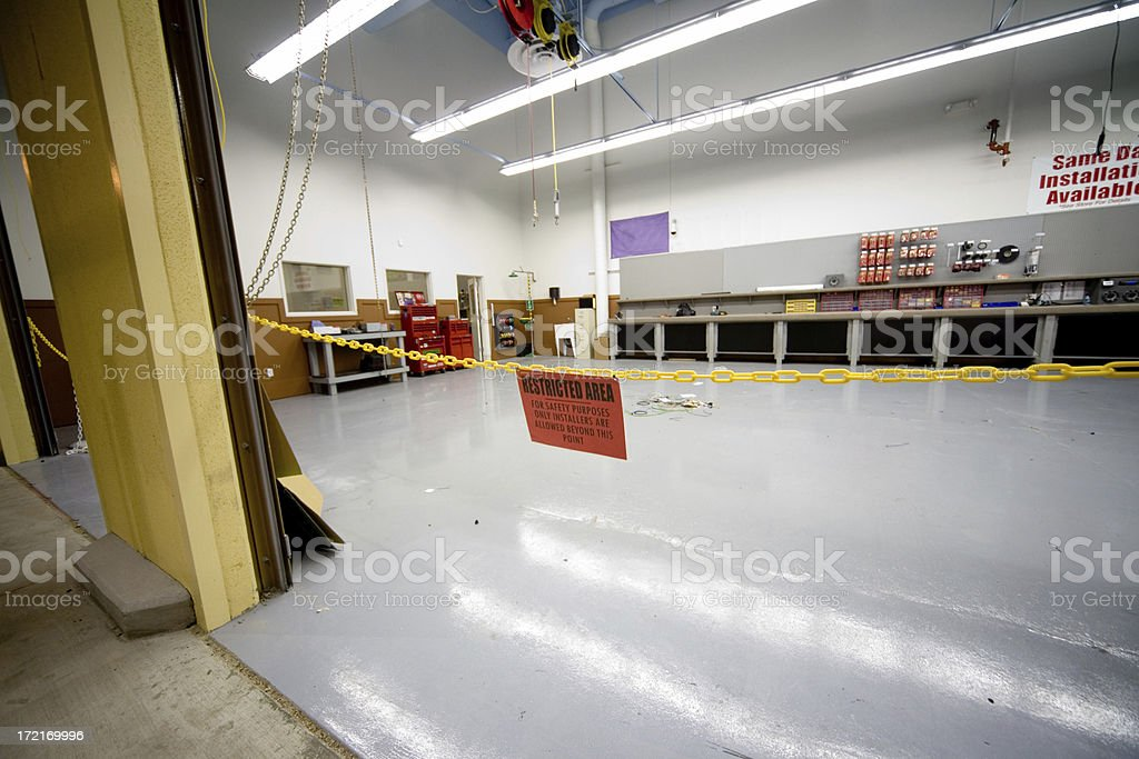 Service Shop royalty-free stock photo