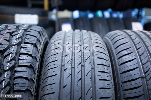 Service tires and wheels. Shop selling tires and wheels.