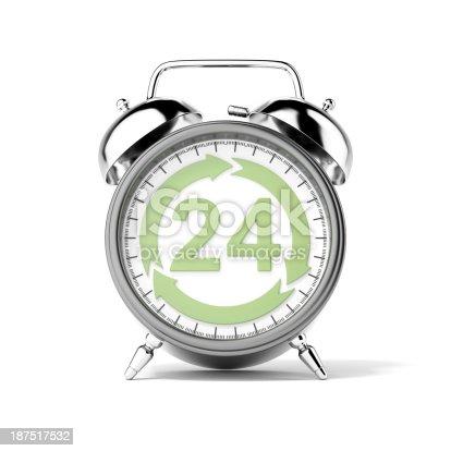 istock Service twenty-four hours 187517532