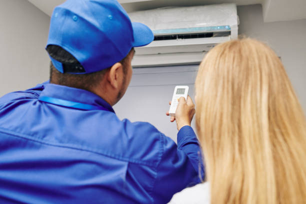 Service worker using remote control stock photo