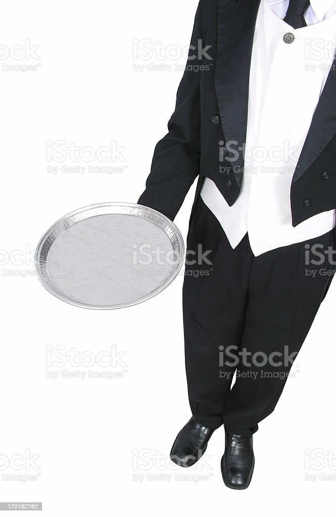 Serving 2 royalty-free stock photo
