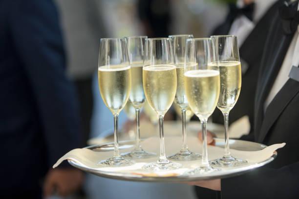 Mit Champagner – Foto