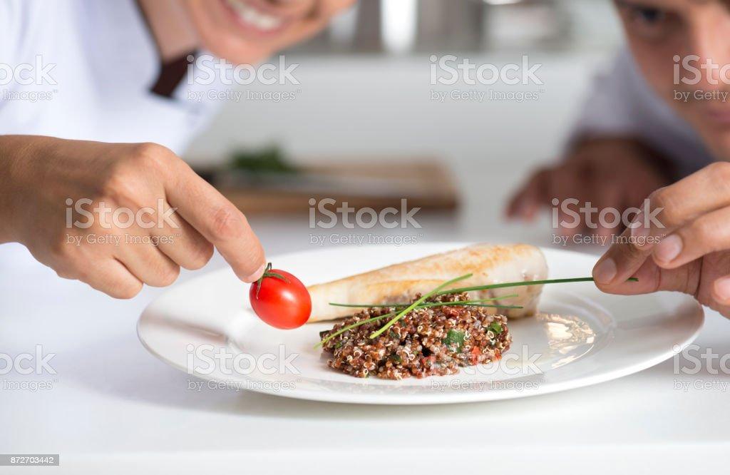 Un plat de service - Photo