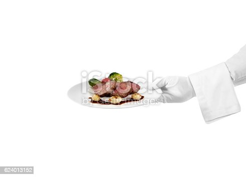 istock Serving meat dish 624013152