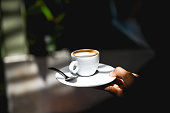 istock Serving perfect coffee 1293334660