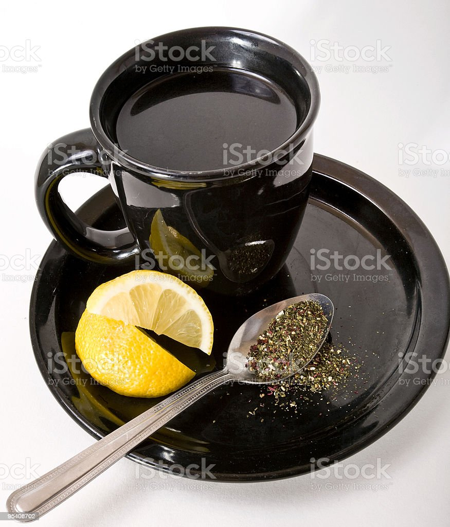 Serviert Tee Lizenzfreies stock-foto