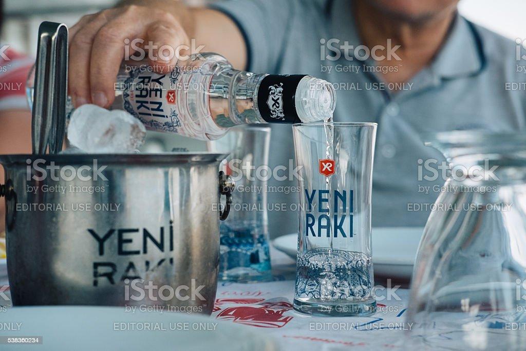 Serving Turkish Raki Stock Photo Download Image Now Istock