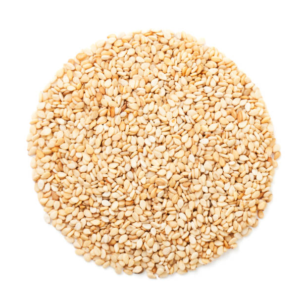 sesame seeds - sesame stock photos and pictures