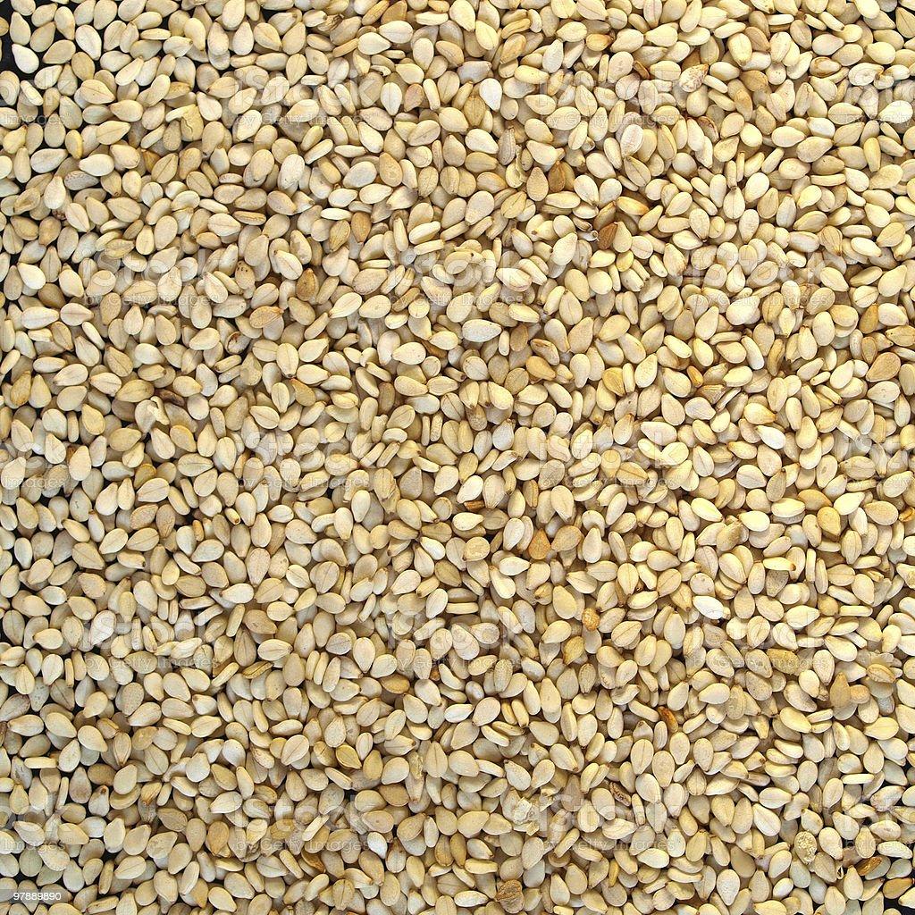Sesame seeds royalty-free stock photo