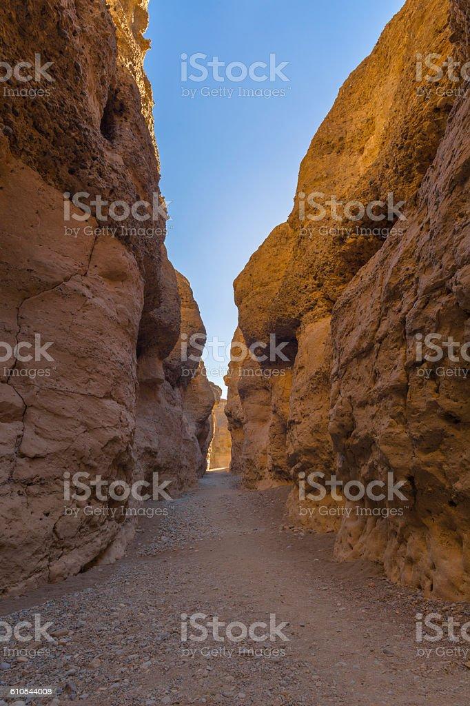Sesriem Canyon stock photo
