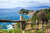 istock Sestri Levante silence bay or Baia del Silenzio. Liguria, Italy 1220933081