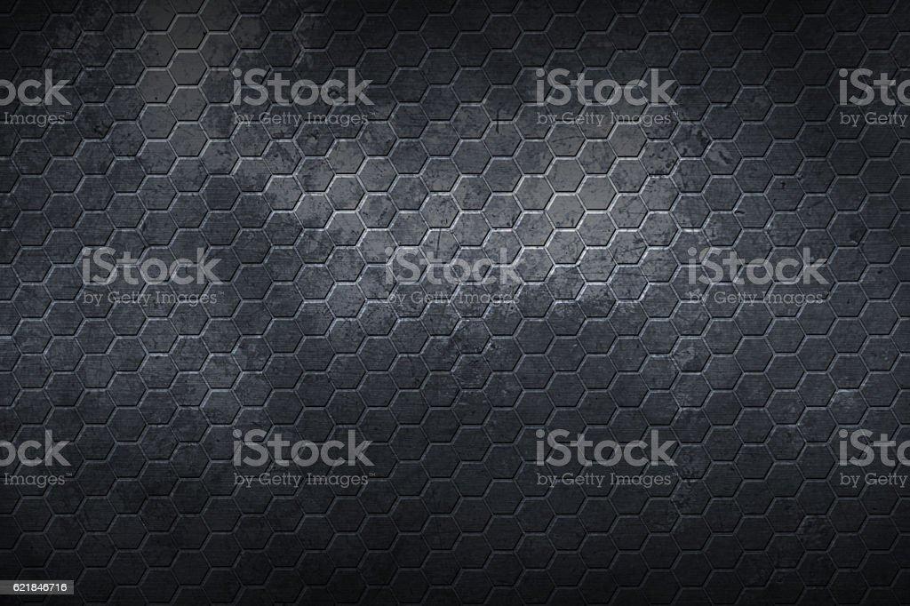 set 9. hexagon background and texture. stock photo