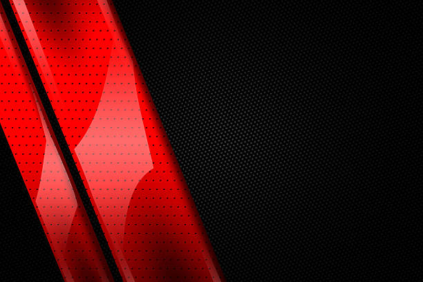 set 9. red and black metal background stock photo