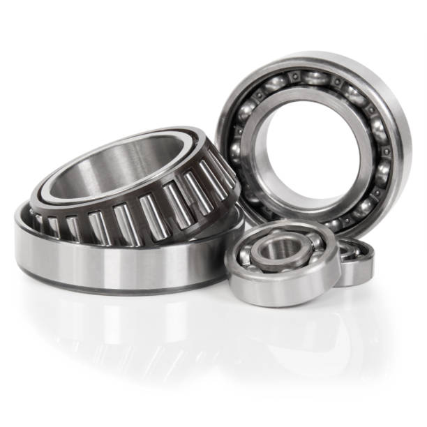 set ball bearing set ball bearing on white background. ball bearing stock pictures, royalty-free photos & images