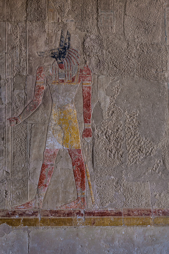 614744994 istock photo Set Egypt god 576557244