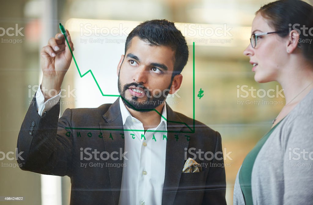 Set for success stock photo