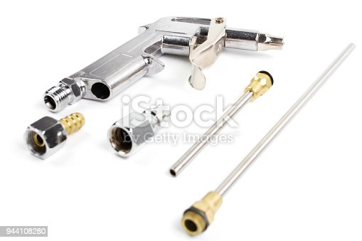 istock Set kit Aluminum Air Duster Blower Gun. 944108280