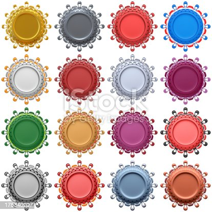 453066423 istock photo Set of abstract labels 175340207