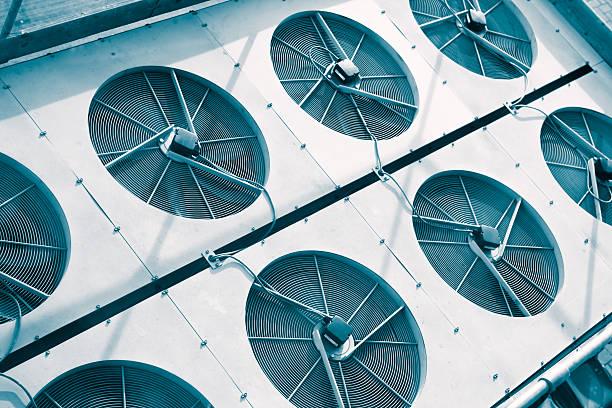 Satz von Klimaanlage Heizung pump – Foto