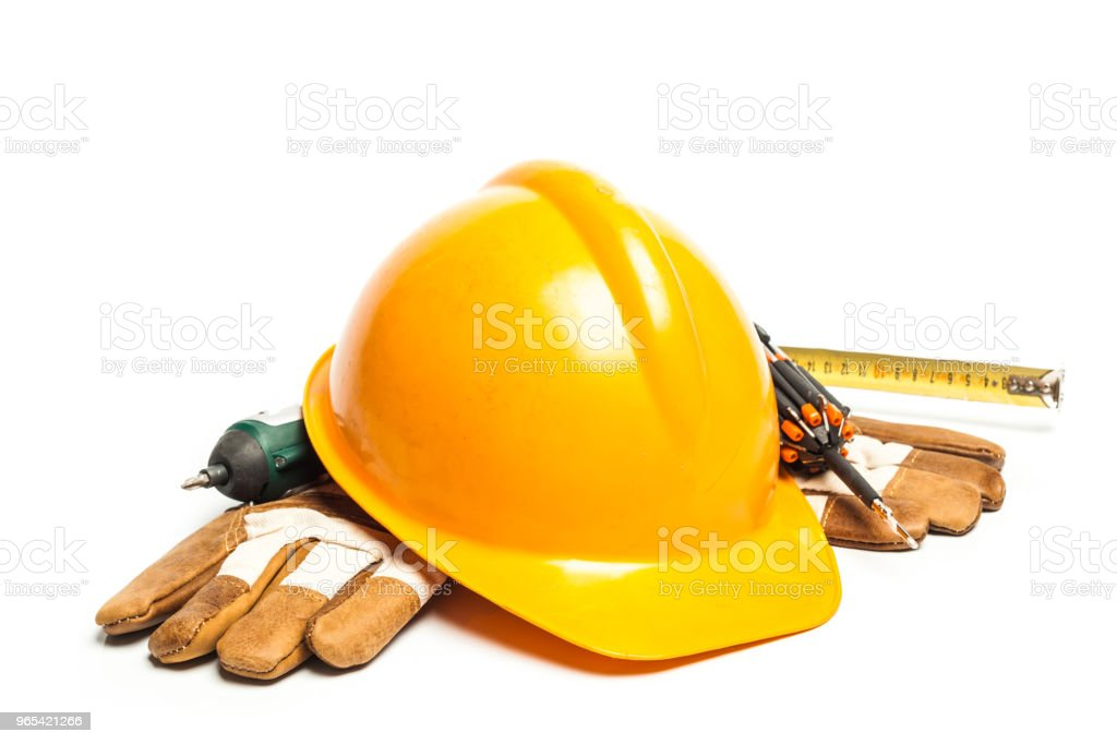 Set of architect tools royalty-free stock photo