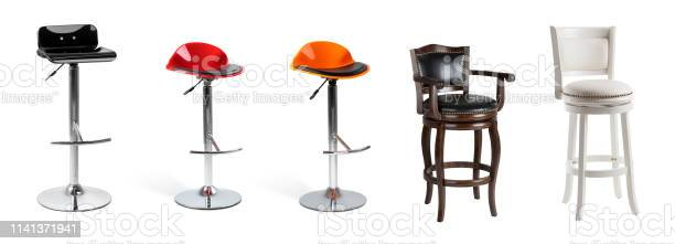 Set of bar chairs isolated on white modern and classic chairs picture id1141371941?b=1&k=6&m=1141371941&s=612x612&h=xonky6tmk v2vrgxkqidedckmrwszxx7fd4 dqghfn8=