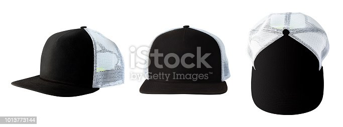 istock Set of baseball caps 1013773144