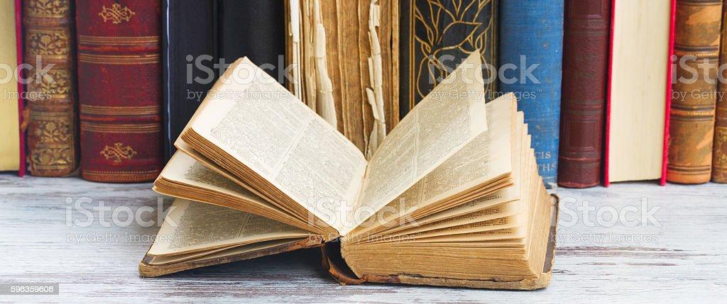 set of books royalty-free stock photo