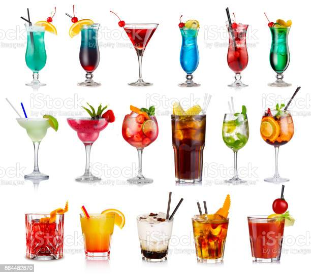 Set of classic alcohol cocktails isolated picture id864482870?b=1&k=6&m=864482870&s=612x612&h=tgakhxtq4qyetnzvgz2mwkrn1ar2hhtsarvwxuxa5vs=