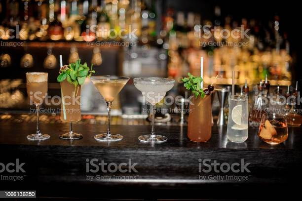 Set of classic cocktails dirty martini sherry cobbler brandy crusta picture id1066136250?b=1&k=6&m=1066136250&s=612x612&h=okie7wfzlhfcpogmlnrymjsq6m owxf swcw9zb0tgy=