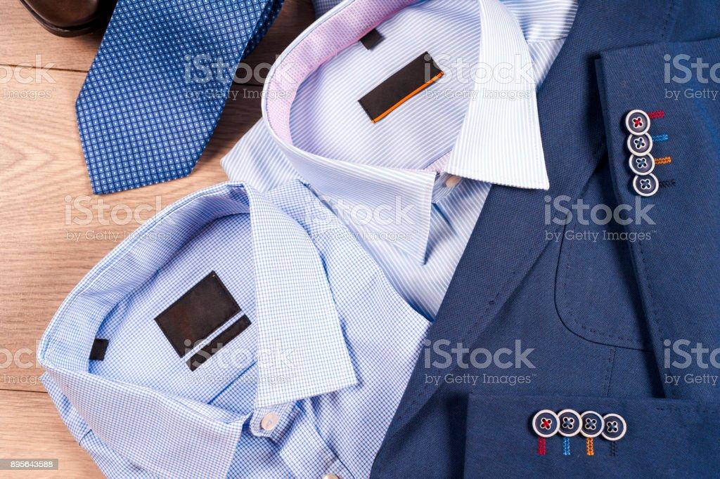 De Ropa Clásicos Hombre Azul Conjunto Para Fotografía Traje doexCBrW