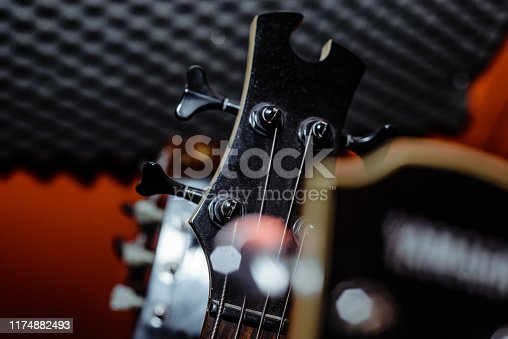 1014432572 istock photo A set of classical and electric guitars. Music concept. 1174882493