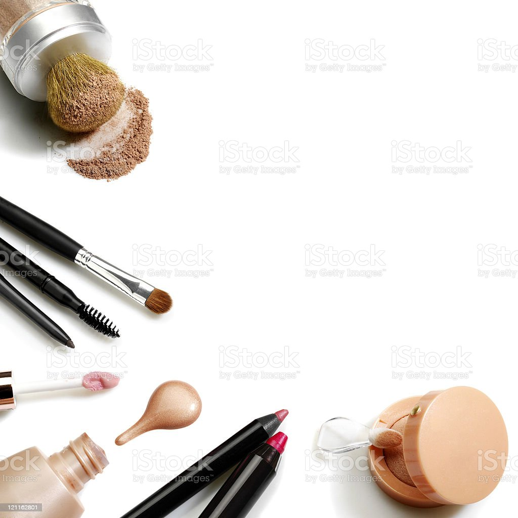 Set of cosmetics royalty-free stock photo