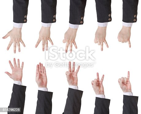 513641036istockphoto set of counting businessman hand 514296225