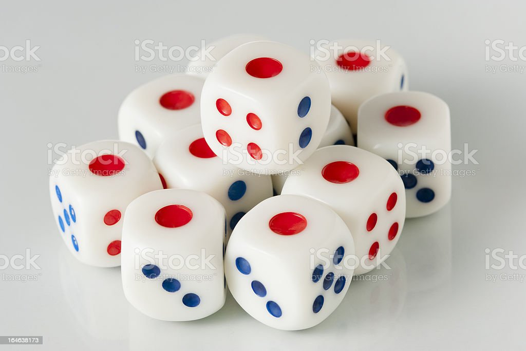set of dice royalty-free stock photo