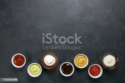 istock Set of different sauces 1152545266