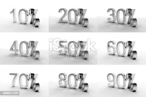 istock Set Of Discount 468631300
