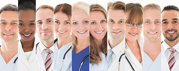 set of doctors - group of objects stock pictures, royalty-free photos & images