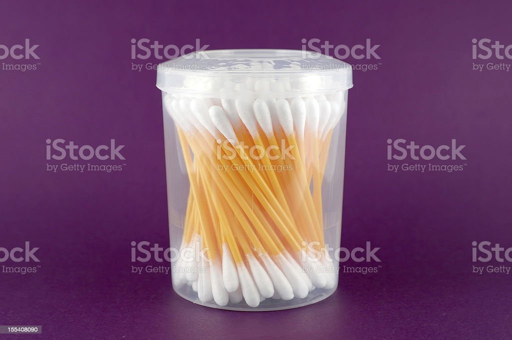 Set of ear sticks royalty-free stock photo