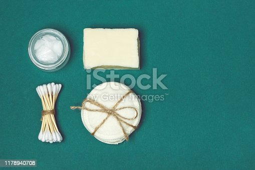 istock Set of eco friendly body care items 1178940708