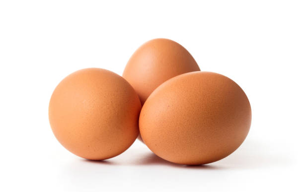 set of egg isolated stock photo