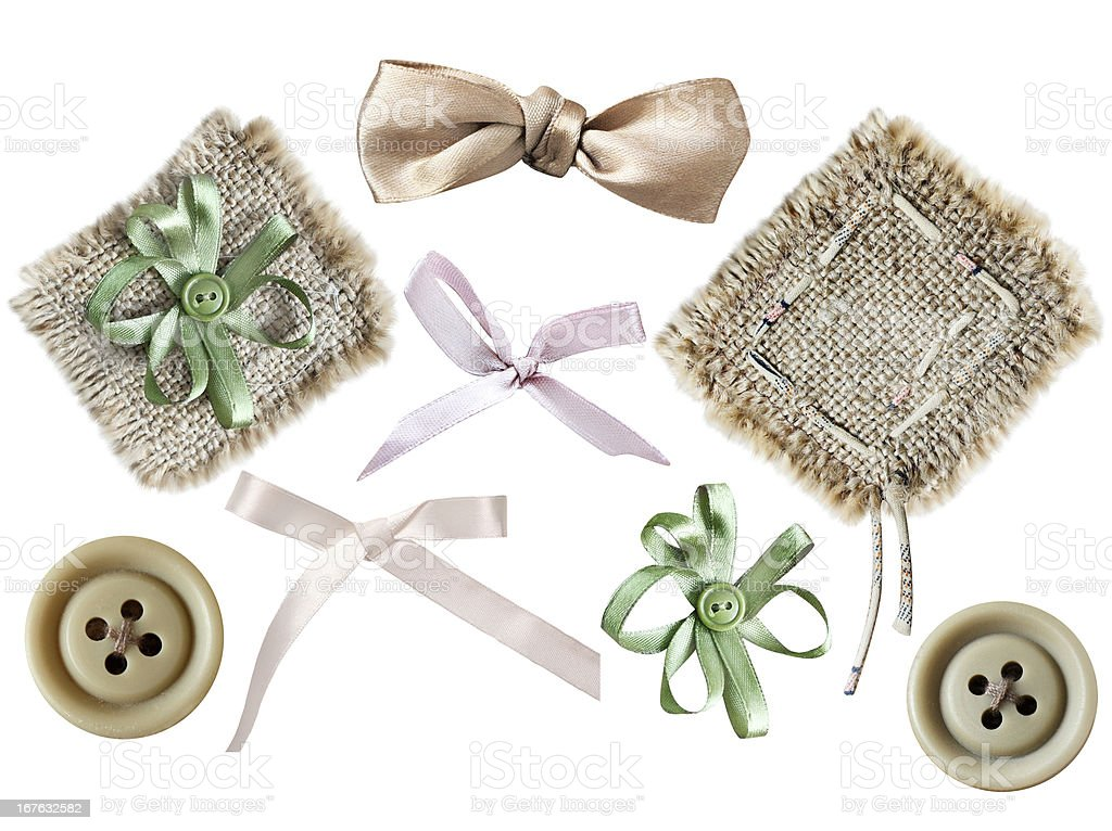 Set of elements for scrapbooking royalty-free stock photo