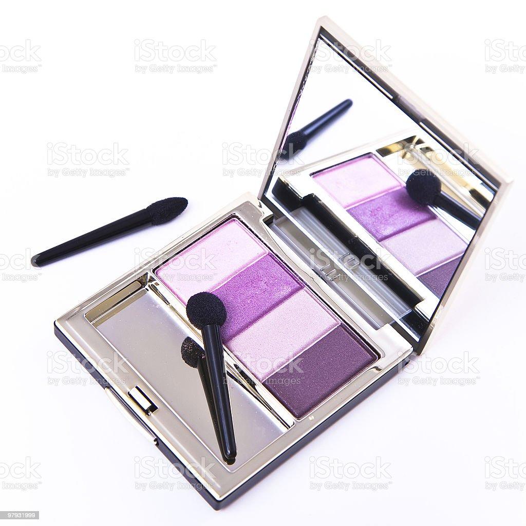 set of eyeshadows royalty-free stock photo